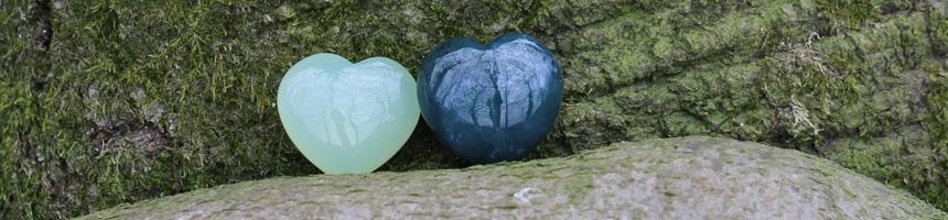 Harten en edelsteen