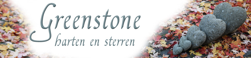 greenstone hart en ster