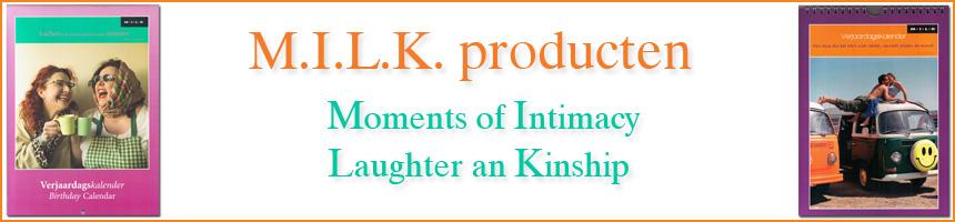 Producten van M.I.L.K.