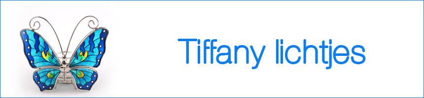 Waxinelichten Tiffany