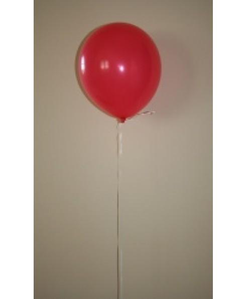 Heliumballon rood