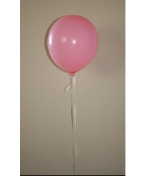 Heliumballon rose.