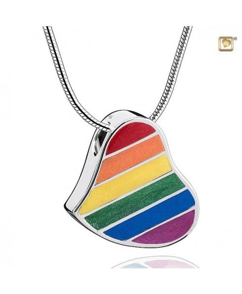 Regenboog hart ashanger