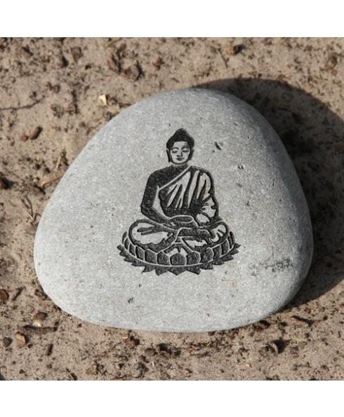 Tekststeen Boeddha