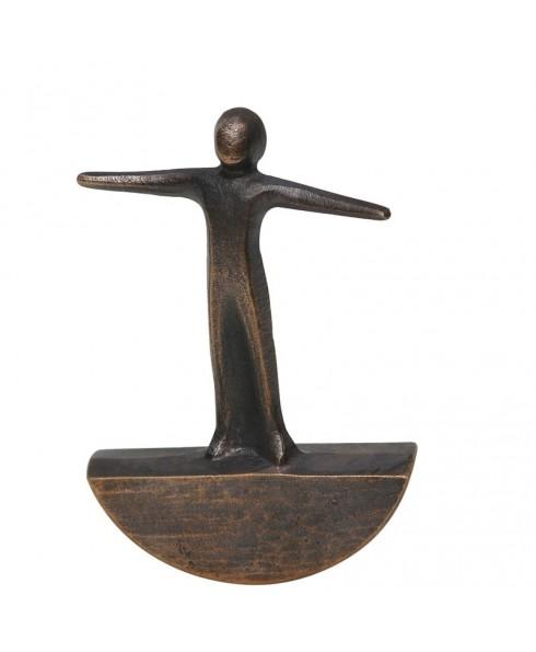 Beeldje balance brons