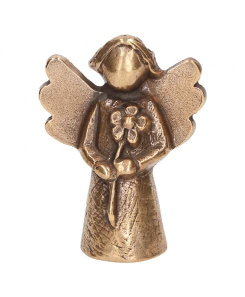 Engel bloem brons