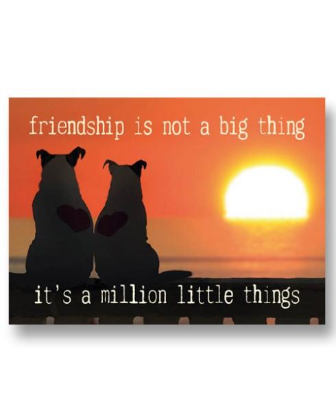 Postkaart vriendschap