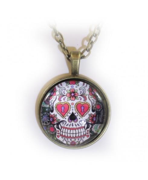 Skull key amulet
