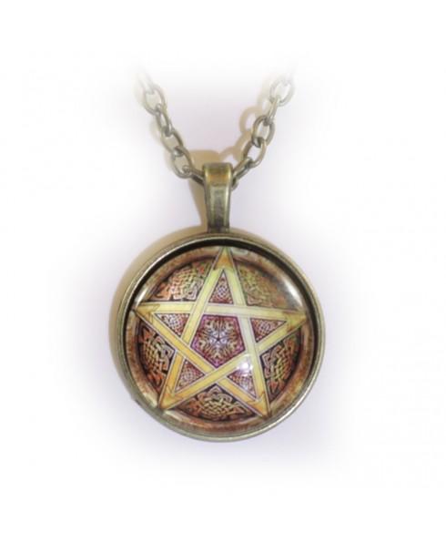 Pentagram geluksamulet