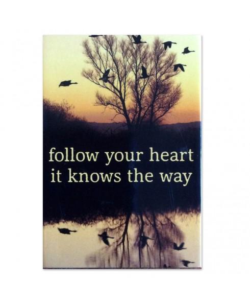 Magneet follow your heart