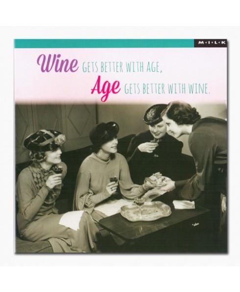 Wine gets better