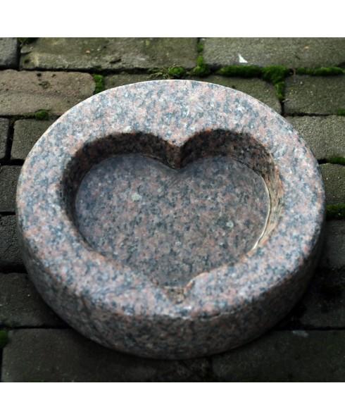 Schaal hart rond