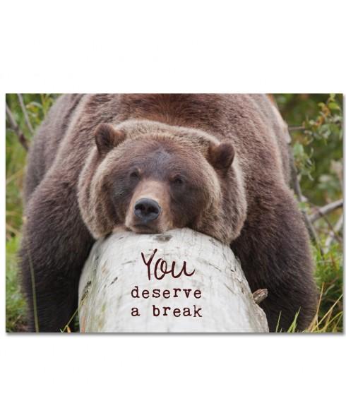 Deserve a break
