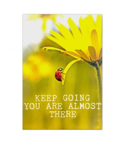 Postkaart keep going