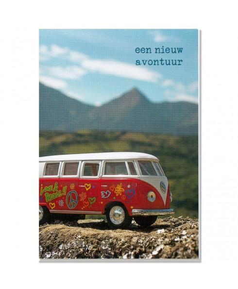 Postkaart Nieuw avontuur