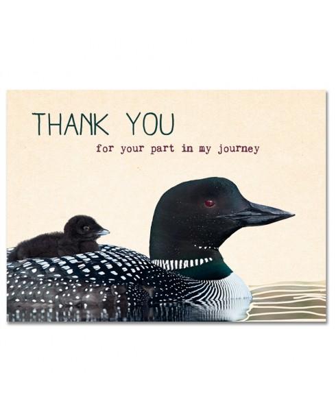 Postkaart Thank you