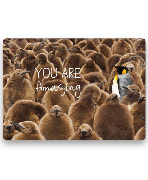 Postkaart You are amazing