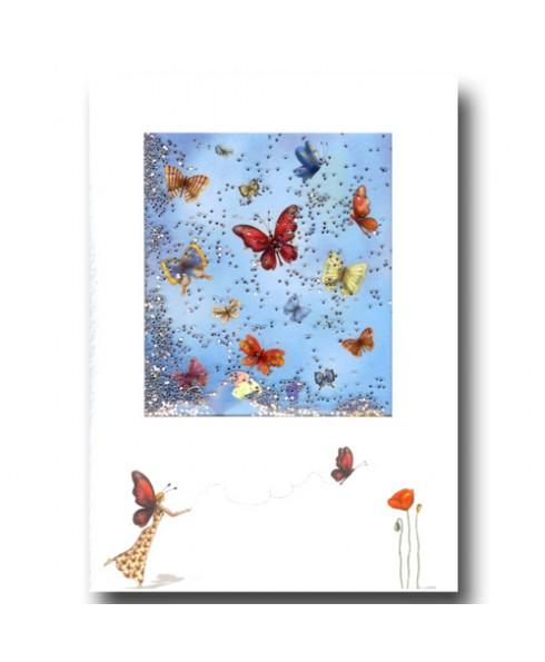 Vlinder en een fee.