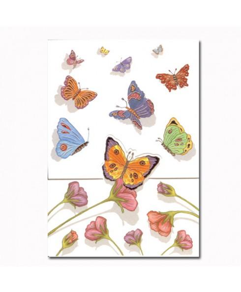 Vlinder uitvouwbaar.