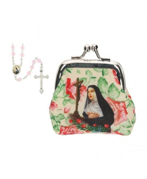 Rozenkrans knipbuideltje Heilige Rita
