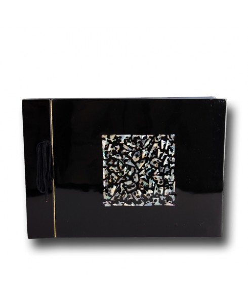 Foto album, zwart
