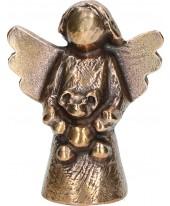 Engel beer brons