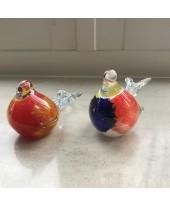 Decoratievogels twee stuks