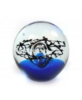Droomkogel blauw-zwart