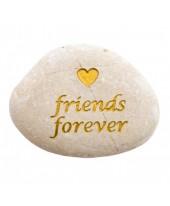 Friends forever tekststeen