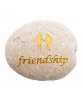Friendship tekststeen