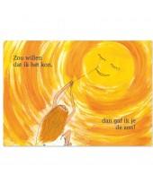 De zon Postkaart