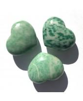 Jade gevlekt hart, klein