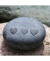 Drie harten steentje