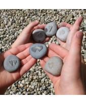 Mini hart stenen.