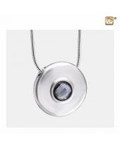 Cirkel met kristal ashanger