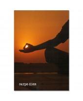 Postkaart carpe diem
