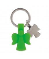 Sleutelhanger engel groen