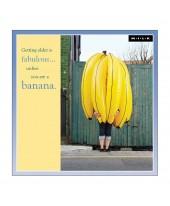 Wenskaart banaan