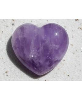 Amethyst hart groot