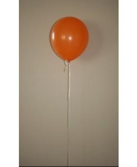 Heliumballon oranje.