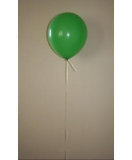 Heliumballon groen.
