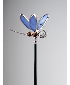 Libelle blauw