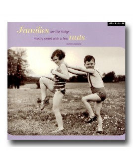Families are like fudge....