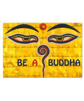 Kaart Be a Buddha