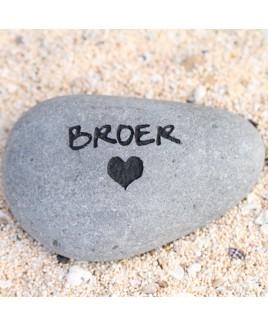 Broer steen
