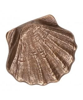St Jacobsschelp brons