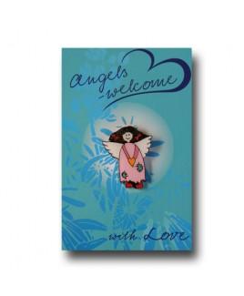 kinder engel blauw.