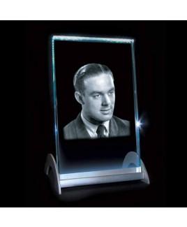 Kristal lasering op lichtstandaard