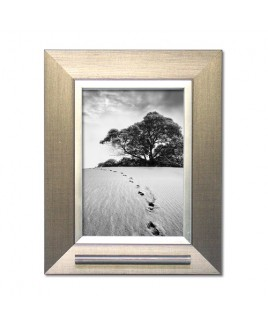 Fotolijst zilverkleur met as voorziening