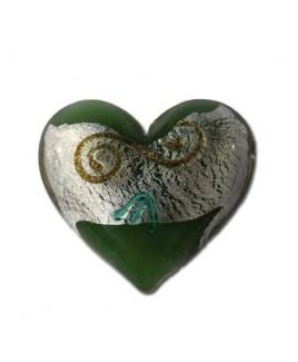 Barock groen met krul.